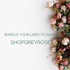 Shopgreyrose where prices are negotiable!